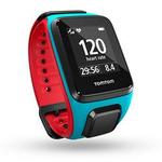 TomTom Runner 2 Cardio - modro-červená (L) / Chytré fitness hodinky / 5 ATM / GPS / BT (1RF0.001.00)