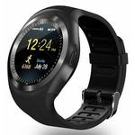 IMMAX chytré hodinky SW4 černá / 1.22 LCD / MTK6261D / 32MB RAM / 32MB / BT / micro USB / Android a iOS (HODIMM1006)