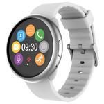 MyKronoz ZeRound 2 stříbrno-bílá / Chytré hodinky (KRZEROUND2-S/W)