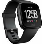 Fitbit Versa černá / Chytré fitness hodinky / GPS / BT / hudební přehrávač (FB505GMBK-EU)