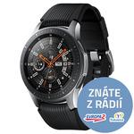 Samsung Galaxy Watch 46mm SM-R800 | Silver AMOLED / Wi-Fi / Bluetooth / NFC / GPS / Tizen (SM-R800N)