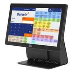 EET Mironet / ELO dotykový 15.6 All-In-One PC / pokladní systém Darwin 3 obchod-gastro / černá (POS-MIR-ELO01)