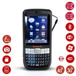 Honeywell Dolphin 60s / 2D / BT / Wi-Fi / 3G / QWERTY klávesnice / GPS / kit USB / Win Embedded Handheld (60S-LEQ-C111XE)