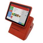 KASA FIK PROFIK / Android All-In-One / dotykový 10 displej / pokladní tiskárna / SW KASA FIK KLASIK / červená (FK-B012)