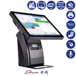 ZONERICH ZQ-P1088 / 15 All-In-One dotykový POS terminál / pokladní 80mm tiskárna / zákaznický displej (elio ZQ-1088 15)