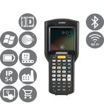 ZEBRA MC3200 Premium 1D Rotační hlava / 1D / BT / Wi-Fi / num. klávesnice / handheld / IST / Android (MC32N0-RL2SAHEIA)