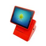 Pokladní terminál / Android All-In-One / dotykový 10 displej / interní tiskárna / Android 5.1 / červená (B012)