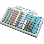 Glancetron klávesnice 8031 bílá / num. / RS-232 / PS2 / kit (JK-8031U0X-01)