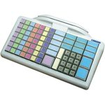Glancetron klávesnice 8031 MSR bílá / num. / RS-232 / PS2 / kit (JK-8031U6X-01)