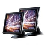 Glancetron GT15plus 15 resistive černá / Dotykový monitor pro POS (JT-1024 GT15plus)