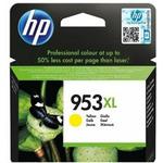HP 953XL originální inkoustová kazeta / 1600 stran / Žlutá (F6U18AE)