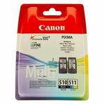 Canon originální cartridge PG-510, CL-511 / Multipack (2970B010)