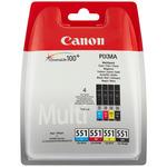 Canon originální cartridge CLI-521 C M Y BK / Photo value (2933B011)