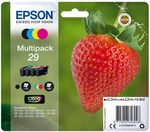 EPSON T2986 originální cartridge 29 CMYK / XP-235 XP-332 / 3x3.2 + 5.3ml / Multipack (C13T29864012