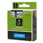Dymo originální páska do tiskárny štítků 19mm x 7m / černý tisk / bílý podklad / D1 (S0720830)