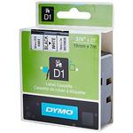Dymo originální páska do tiskárny štítků 19mm x 7m / černý tisk / bílý podklad / D1 (45803-D)