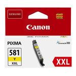 Canon CLI-581XXL Y originální cartridge žlutá / pro PIXMA TR7550 TR8550 / 11.7ml (1997C001)
