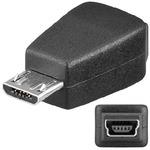 PremiumCord USB redukce Mini 5 PIN/female - Micro USB/male (8592220007867)