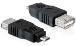 PremiumCord USB redukce USB A/female - Micro USB/male (8592220011314)