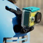 Xiaomi YI držák na helmu pro kameru černá (6926930100648)