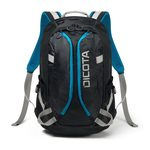 Dicota Backpack Active XL 15-17.3 černá / Batoh na notebook / do 17.3/ polyester (D31223)