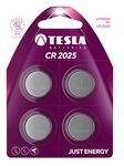 TESLA CR2025 baterie 4ks (1099137110)