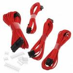Phanteks sada prodlužovacích kabelů červená / 50cm / 24-Pin ATX / 8-Pin EPS / 2x 6+2-Pin PCIe (
