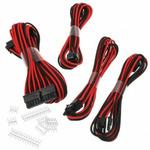 Phanteks sada prodlužovacích kabelů černo-červená / 50cm / 24-Pin ATX / 8-Pin EPS / 2x 6+2-Pin PCIe (PH-CB-CMBO_BR)