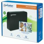 Manhattan Externí box na 3.5 SATA HDD černý / USB 3.0 (130295)