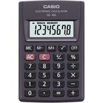 CASIO HL 4 A černá / kapesní kalkulačka / osmimístná (HL 4 A)