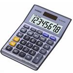 CASIO MS 80 VER II stříbrná / stolní kalkulačka / osmimístná (MS 80 VER II)