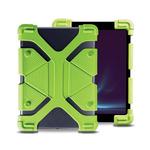 CELLY Octopad Univerzální silikonový kryt pro tablety 9-12 zelená / extra odolný (OCTOPAD912GN)