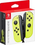 Nintendo Switch Joy-Con Pair Neon Yellow (NSP085) - Nintendo Joy-Con Pair
