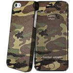 i-Paint HARD CASE Camo zadní kryt pro Apple iPhone 5 5S SE kamufláž (8053264071523)