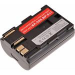 T6 Power Baterie Canon BP-508 / BP-511 / BP-511A / BP-512 / BP-514 / 1700mAh / hnědá (DCCA0007)