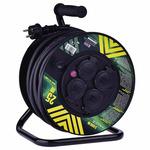 EMOS prodlužovací buben - 4 zásuvky / 25m / 2.5mm / guma / IP44 (1908542500)