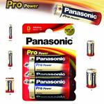 Panasonic Pro Power Alkalická baterie D LR20 2ks (09834)