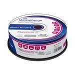 MediaRange CD-R 700MB 52x spindl 25ks / Inkjet Printable (MR202)