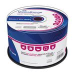 MediaRange CD-R 700MB 52x spindl 50ks / Inkjet Printable (MR208)