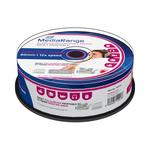 MediaRange CD-R AUDIO 700MB 52x spindl 25ks / Inkjet Printable (MR224)