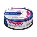 MediaRange CD-R 700MB 52x Waterguard Photo spindl 25ks / Inkjet Printable (MRPL512)