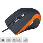 MODECOM MC-M5 / optická myš / 2400DPI / USB / oranžová (M-MC-00M5-160)