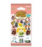 3DS Animal Crossing: Happy Home Designer Card 3set Vol.4 / ammiibo karty (NI3S0164)