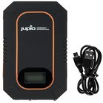 JUPIO PowerVault Solar Duo 6000 / solární powerbanka / 6000mAh / černá (E61PJPJPV0710)