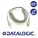 DATALOGIC USB kabel / typ A / kroucený / 3m (90A052043)