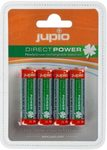 JUPIO dobíjecí baterie Direct Power AA Ni-MH 2100 mAh - 4ks (E61PJPJRBAADP)