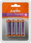 JUPIO dobíjecí baterie Direct Power Plus AA Ni-Mh 2500 mAh - 4ks (E61PJPJRBAADPP)