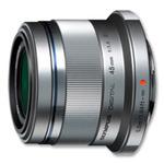 Olympus M. ZUIKO Premium 45mm F1.8 / stříbrná (V311030SE000)