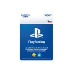 SONY PlayStation Store Kredit - 1000Kč / elektronická licence (SCEE-CZ-00100000)
