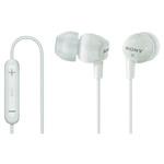 SONY DREX12IPW sluchátka - bílá (DREX12IPW.AE)